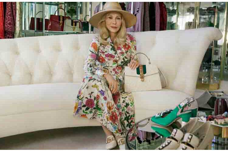 Faye Dunaway per Gucci Hollywood style21ag18 1